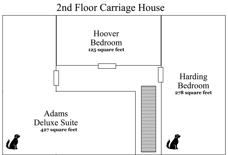 2nd floor carriage house